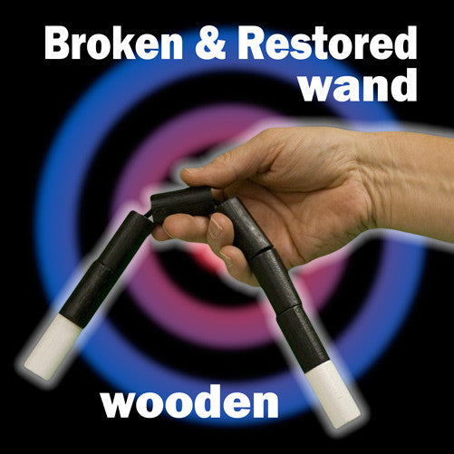 Broken & Restored Wand, Wood - Jumbo