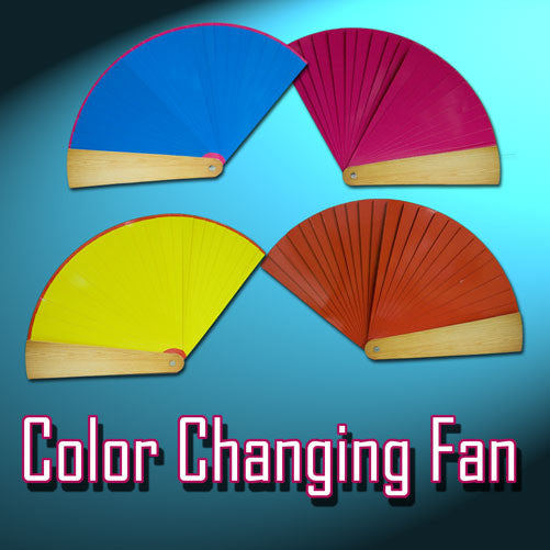 Color Changing Fan - 4 COLOR
