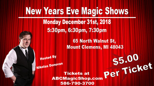 New Year's Eve Magic Shows