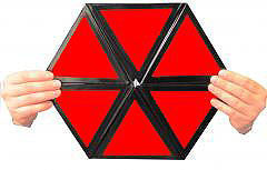 Color Changing Hexagon w/ DVD - Large