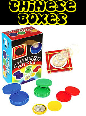 Chinese Boxes Set - Boxed