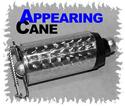 Appearing Cane, Plastic - Black