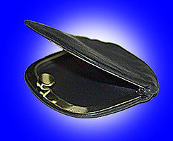 Coin Purse - Locking, Leather