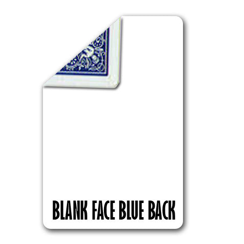 Blank Face, Bike Poker - Blue
