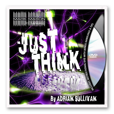 Just Think (Gimmick and DVD) by Adrian Sullivan and JB Magic