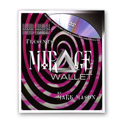 Mirage Wallet (With DVD) by Mark Mason and JB Magic