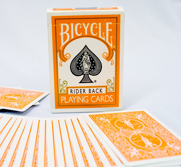 Bicycle Deck - Orange