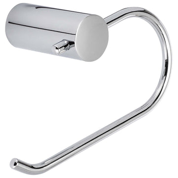 Image Of Toilet Paper Holder -  European -  Clearwater Bathroom Hardware Set  - Chrome Finish - Harney Hardware