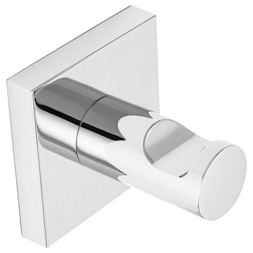 Image Of Robe Hook / Towel Hook -  Daytona Bathroom Hardware Set - Chrome Finish - Harney Hardware