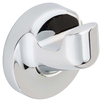 Image Of Robe Hook / Towel Hook -  Harbor Isle Bathroom Hardware Set  - Chrome Finish - Harney Hardware