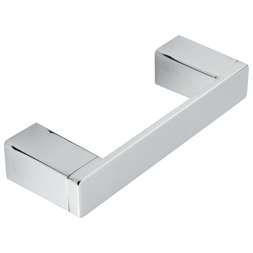 Image Of Toilet Paper Holder With Pivoting Bar -  Westshore Bathroom Hardware Set - Chrome Finish - Harney Hardware