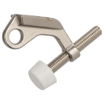 Image Of Hinge Pin Stop - Satin Nickel Finish - Harney Hardware