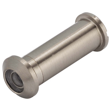 Image Of Door Peephole Viewer -  1/2 In. Bore 160 Degree Viewer - Satin Nickel Finish - Harney Hardware
