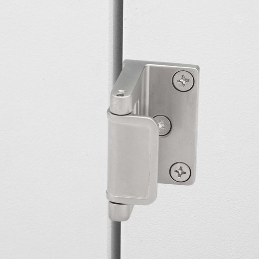 Image Of Security Door Guard -  Commercial - Satin Nickel Finish - Harney Hardware