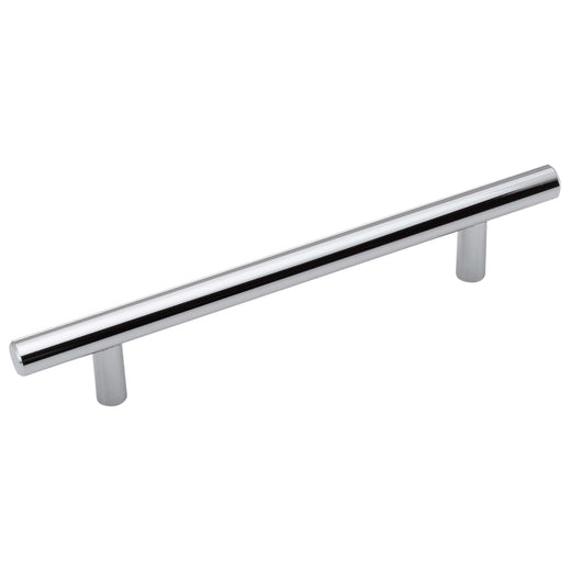 Image Of Cabinet Bar Pull -  5 1/16 In. Center To Center - Chrome Finish - Harney Hardware