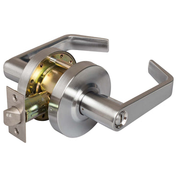 Image Of Vigilant Commercial Door Lock -  Privacy / Bathroom Function - Satin Chrome Finish - Harney Hardware
