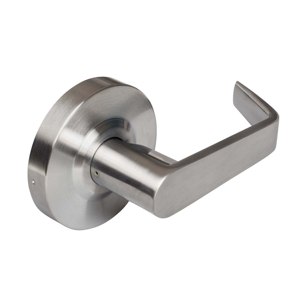 Vigilant Commercial Door Lever Set - Satin Chrome - Harney Hardware