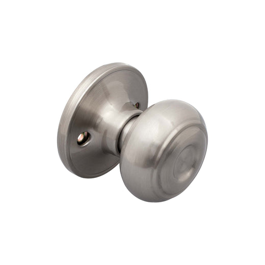 Image Of Callista Inactive / Dummy Door Knob - Satin Nickel Finish - Harney Hardware