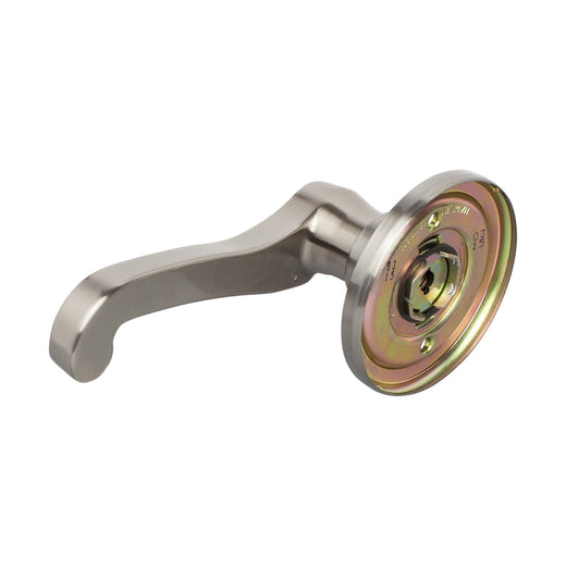 Image Of Sage Inactive / Dummy Right Door Lever - Satin Nickel Finish - Harney Hardware