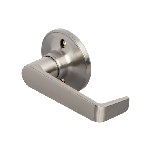 Image Of Largo Inactive / Dummy Door Lever - Satin Nickel Finish - Harney Hardware