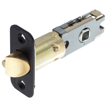 Image Of Residential Cont UL Keyed / Entry Latch -  Adjustable 2 3/8 In. To 2 3/4 In. - Venetian Bronze Finish - Harney Hardware
