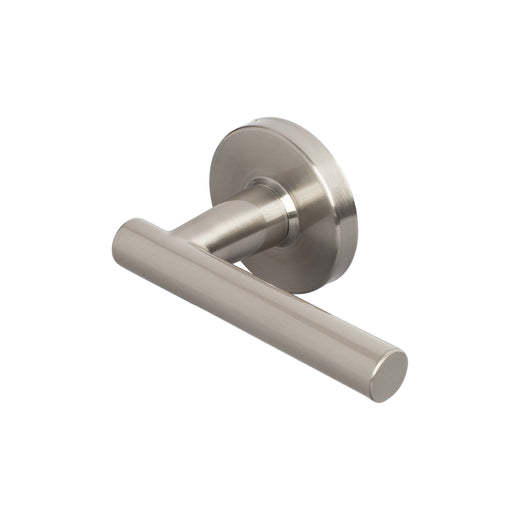Image Of Riley Inactive / Dummy Contemporary Door Lever - Satin Nickel Finish - Harney Hardware