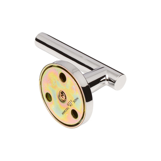 Image Of Riley Inactive / Dummy Contemporary Door Lever - Chrome Finish - Harney Hardware
