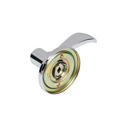 Image Of Dakota Inactive / Dummy Left Door Lever - Chrome Finish - Harney Hardware