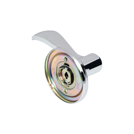 Image Of Dakota Inactive / Dummy Right Door Lever - Chrome Finish - Harney Hardware