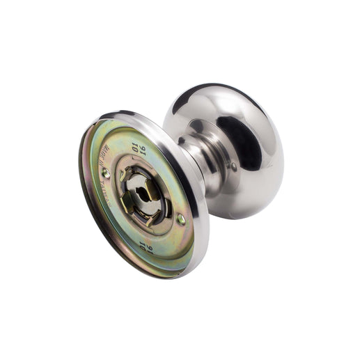 Image Of Callista Inactive / Dummy Door Knob - Chrome Finish - Harney Hardware