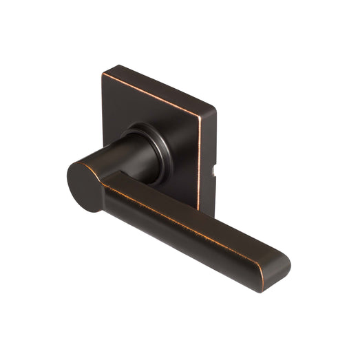 Image Of Harper Inactive / Dummy Contemporary Door Lever - Venetian Bronze Finish - Harney Hardware