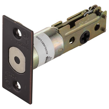 Image Of Commercial Deadbolt Latch -  UL Fire Rated -  2 3/8 In. Backset - Oil Rubbed Bronze Finish - Harney Hardware
