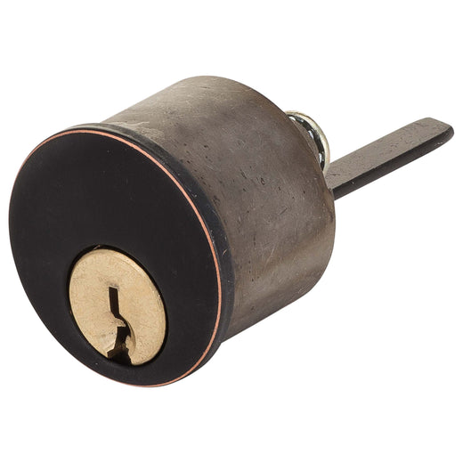 Image Of Kwikset 5 Pin Keyway For Atlas Light Duty Commercial Deadbolt - Venetian Bronze Finish - Harney Hardware