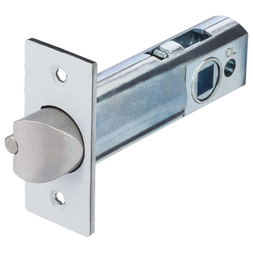 Image Of Mechanical Keyless Leverset Latch -  2 3/8 In. Backset - Satin Chrome Finish - Harney Hardware
