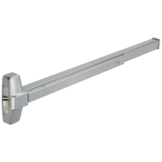 Image Of Panic Exit Device -  UL Fire Rated -  ANSI 1 -  44 In. Wide - Powder Coated Aluminum Finish - Harney Hardware