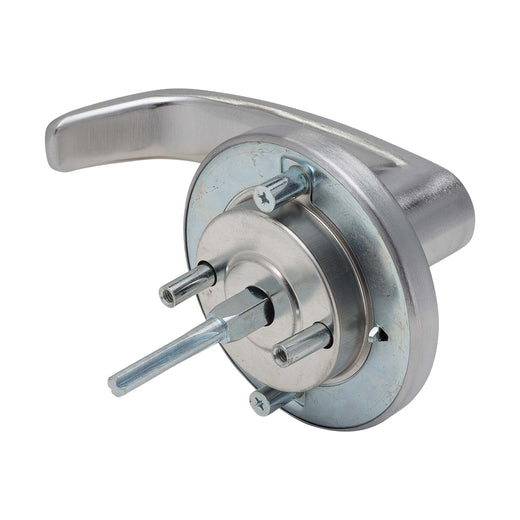 Image Of Panic Exit Device Dummy / Inactive Function Lever Trim - Satin Chrome Finish - Harney Hardware