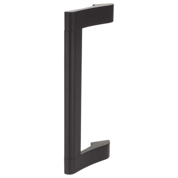 Image Of Panic Exit Device Pull Handle -  10 In. For Narrow Stile / Cross Bar Devices - Powder Coated Bronze Finish - Harney Hardware