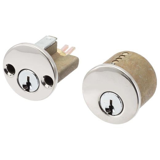 Image Of Schlage 5 Pin Keyway For Double Cylinder Deadbolts - Chrome Finish - Harney Hardware