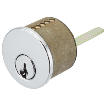 Image Of Schlage 5 Pin Keyway For Single Cylinder Cont Deadbolts - Chrome Finish - Harney Hardware