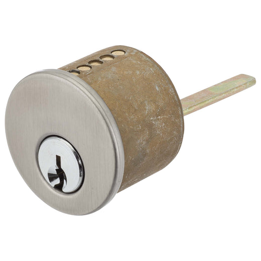 Image Of Schlage 5 Pin Keyway For Single Cylinder Deadbolts - Satin Nickel Finish - Harney Hardware