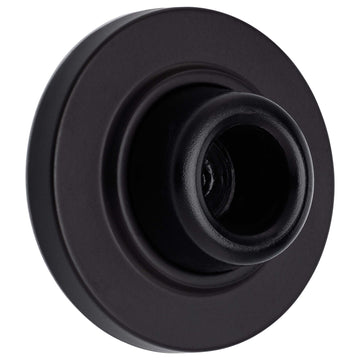 Image Of Wall Stop -  Concave -  2 1/8 In. Diameter - Oil Rubbed Bronze Finish - Harney Hardware