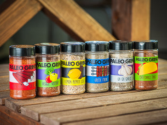 Paleo Grind 6-Pack Spices - The Paleo Grind - Paleo Spices by Paleo Nick
