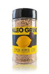 Lemon Pepper Love Spice - The Paleo Grind - Paleo Spices by Paleo Nick