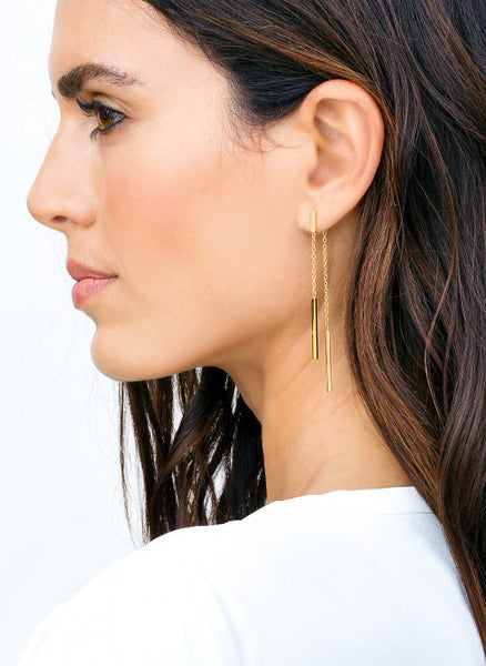 Mave Double Drop Earrings