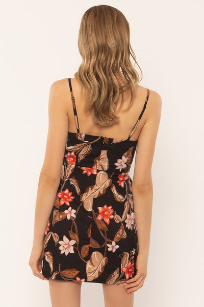 Dulce Floral Slip Mini Dress