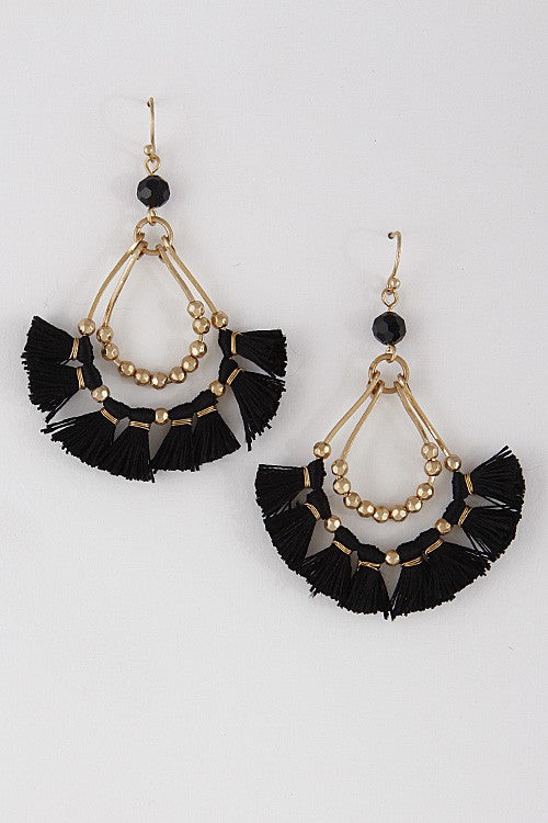 Barcelona Tassel Earrings