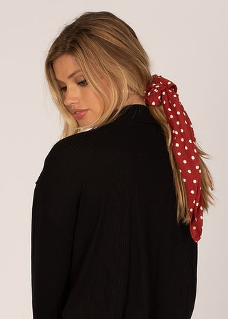 Up and Away Scrunchie Scarf