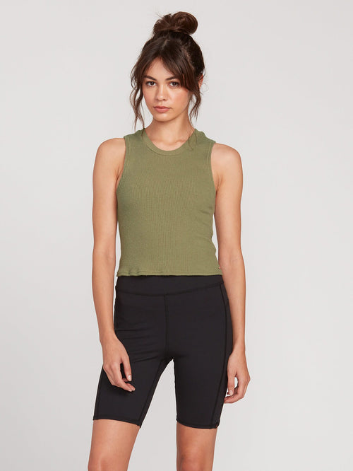 Lived In Lounge High Neck Tank Top