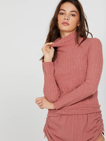 Lived in Lounge Turtleneck Long Sleeve Top