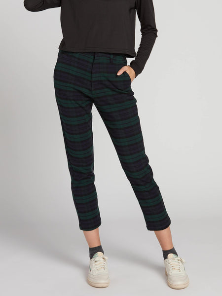 Frochickie Highrise Plaid Pant